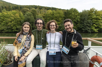 Tatiana, Josué, Giulia and Jorge © Heidelberg Laureate Forum Foundation